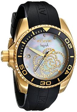 Invicta Women's 0489 Angel Collection Cubic Zirconia-Accente
