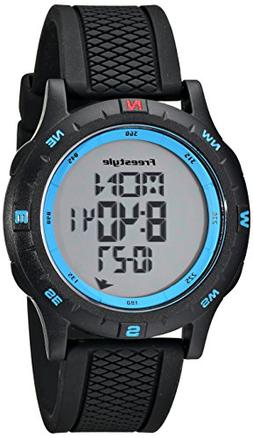 """Freestyle Unisex 101157 """"Navigator"""" Watch with Black Silicon"""