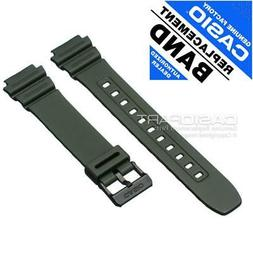 CASIO 10365962 Resin Rubber Watch Band for ILLUMINATOR F-108
