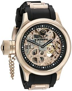 Invicta Men's 1090 Russian Diver Rose Gold-tone Stainless St