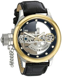 Invicta 14213 Men's Russian Diver Automatic Black Genuine Le