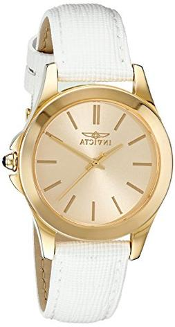 Invicta Women's 15149 Angel 18k Yellow Gold Ion-Plated Stain