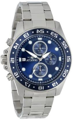 Invicta Men's 15205 Pro Diver Chronograph Blue Dial Stainles
