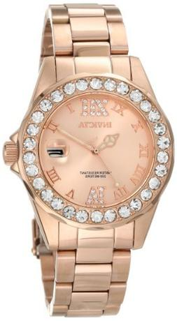 Invicta Women's 15253 Pro Diver Rose Gold Ion-Plated Stainle