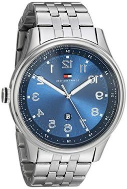 Tommy Hilfiger Men's 1710308 Classic Stainless Steel Blue Di