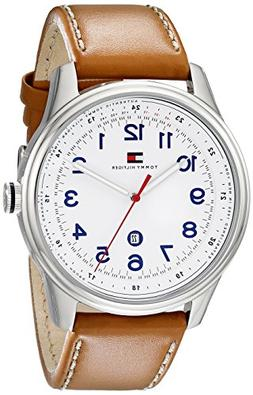 Tommy Hilfiger Men's 1710311 Stainless Steel Watch with Brow