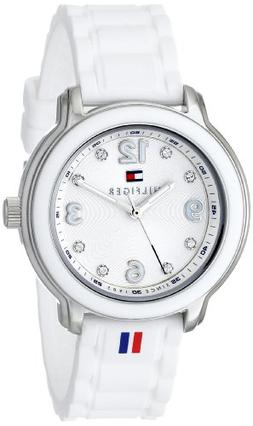 Tommy Hilfiger Women's 1781418 Crystal-Accented Stainless St