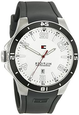 Tommy Hilfiger Men's 1790863 Sport Bezel and Silicon Strap W