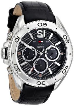 Tommy Hilfiger Men's 1791029 Stainless Steel Watch with Blac