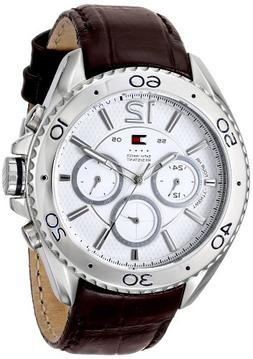 Tommy Hilfiger Men's 1791030 Stainless Steel Watch with Brow