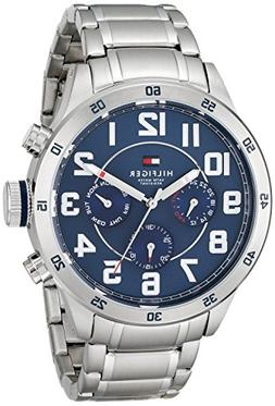 Tommy Hilfiger Men's 1791053 Stainless Steel Watch with Link