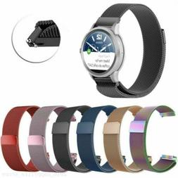 18/20/22mm For Fossil Q Smart Watch Band Strap Magnetic Mila