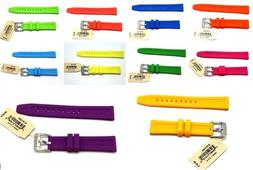 18 mm Fossil Watch Silicon / Rubber Wrist Band / Strap Fit t