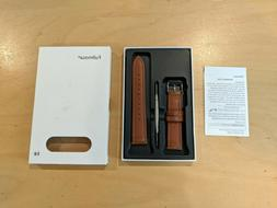 Fullmosa 18mm Brown Quick Release Leather Watch Band - BRAND