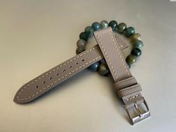 18mm Textured Leather Watch Strap Venture Leather Watch Band