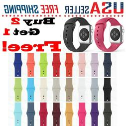 Silicone Band Strap for Apple Watch Sport iWatch Series 5/4/