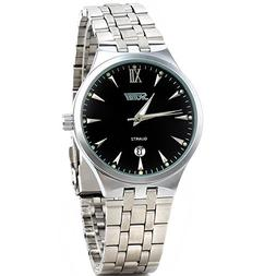 2013newestseller Black Luxury Men Classic Stainless Steel Go