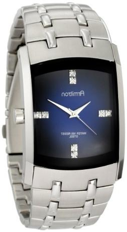 Armitron Men's 204507DBSV Stainless Steel Dress Watch with S