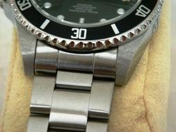 20mm Curved End Stainless Steel Watch Band FITS Invicta Pro