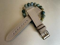 20mm Epsom Textured Leather Watch Strap Venture Leather Role