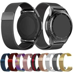 Metal Mesh Replacement Strap Smart Watch Band 22mm For Samsu