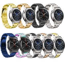 For Samsung Galaxy Watch 42/46mm Gear S3 Stainless Steel Str