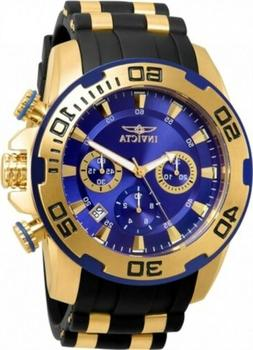 85fa52a1e Editorial Pick Invicta Men's 22313 Pro Diver Quartz Chronograph Blue Dial W