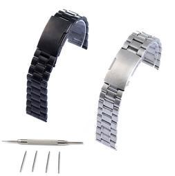 22mm Stainless Steel Watch Band For Fossil Q Founder 2.0 Mar