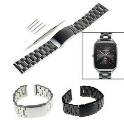 22mm Stainless Steel Watch Band For Martian Notifier,Fossi