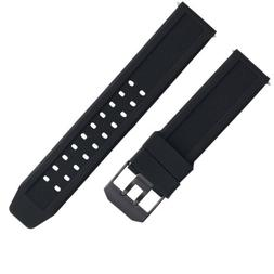 23MM RUBBER WATCH BAND STRAP FOR CITIZEN NAVIHAWK ECO DRIVE