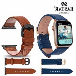 Eastar 3 Color Hot Sell Leather Watchband for Apple <font><b