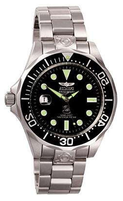 Invicta Men's 3044 Stainless Steel Grand Diver Automatic Wat