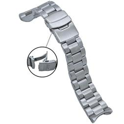 316L Solid Stainless Steel Watch Band 22MM Made to Fit SEIKO