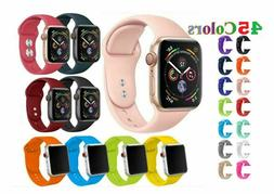 38/42mm Silicone Bracelet Band Strap For App Watch iWatch Sp