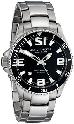 Stuhrling Original Mens Swiss Quartz Stainless Steel Sport A