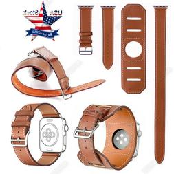 4 in1 Herme Cuff Leather  watch Band Wrist Strap For Apple w