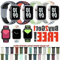 40/44mm 38/42mm Silicone Sport iWatch Band Strap for Apple W