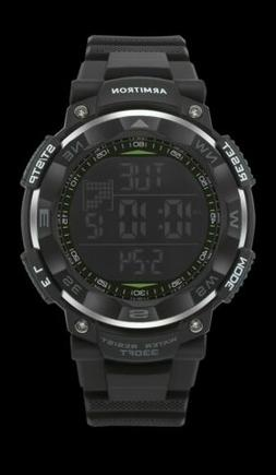 Armitron Sport Men's 40/8254BLK Black Digital Chronograph Wa