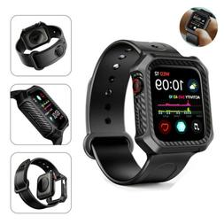 44mm Shockproof iWatch Band Strap With Protective Case For A