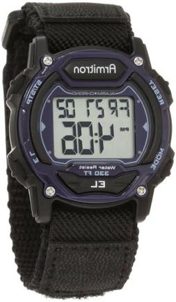 Armitron Sport Unisex 45/7004BLU Sport Watch with Black Nylo