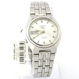 5 automatic silver dial stainless