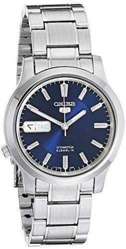 Seiko 5 Men's SNK793 Automatic Stainless Steel Watch with Bl