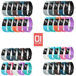 6 Pack Fitbit Charge 2 Replacement Wrist Bands Smart Watch B