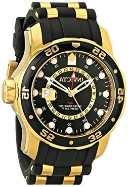 Invicta Men's 6991 Pro Diver Collection GMT 18k Gold-Plated