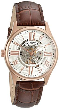 Stuhrling Original Men's 747.04 Atrium Automatic Skeleton Ro