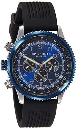 Stuhrling Original Men's 858R.01 Concorso Swiss Quartz  Rubb