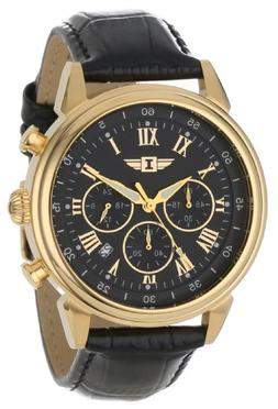 Invicta Men's 90242-003 Invicta I 18k Gold-Plated Stainless