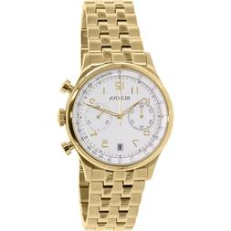 Bulova Men's 97B149 Gold Stainless-Steel Quartz Watch
