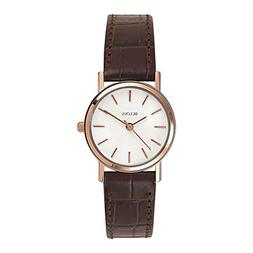 Bulova Women's 98V31 Stainless Steel Watch With Brown Leathe