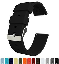 Barton Silicone Watch Bands - Quick Release Straps - Choose